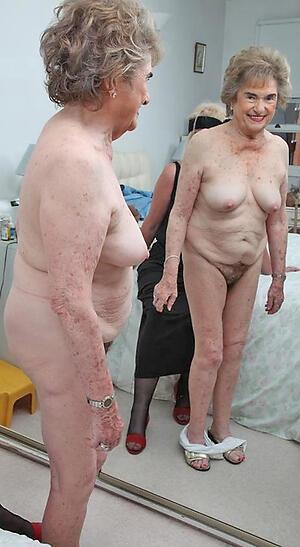 hot sexy grandma cherish posing nude