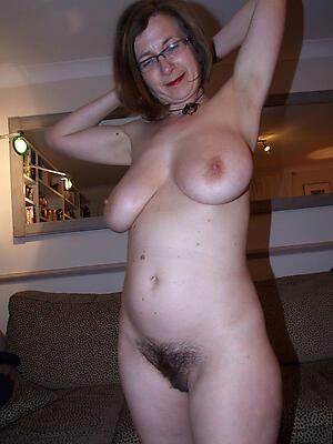 senior brunettes love posing nude