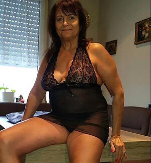 revealed unilluminated granny posing