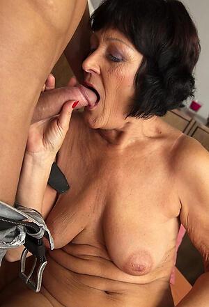 granny gives blowjob layman slattern