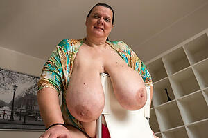 hot old saggy tits stripping