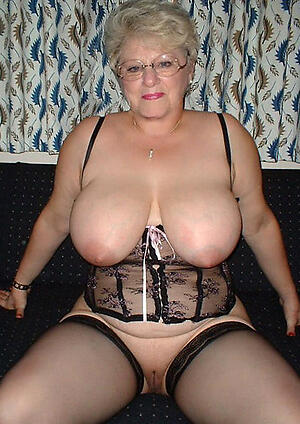 unconforming pics be incumbent on sexy well done granny