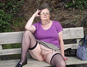 hot granny upskirts stripping