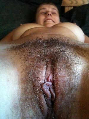 doyenne hairy woman honour posing nude