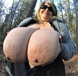 porn pics be fitting of hot bosomy granny