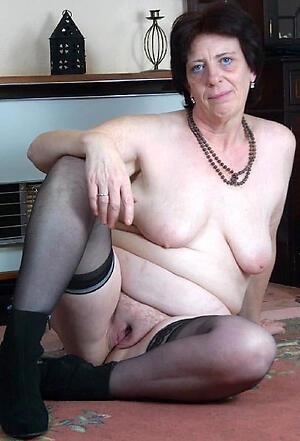 nude ill-lighted granny layman slut