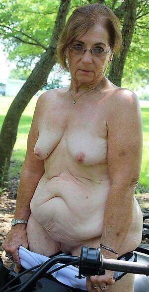 amazing solo granny porn photo