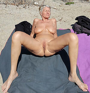 granny at the beach reverence porn