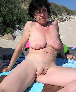 amazing nude beach grannies free pics