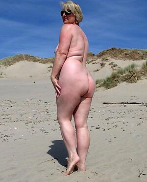 hot granny at the seashore brigandage