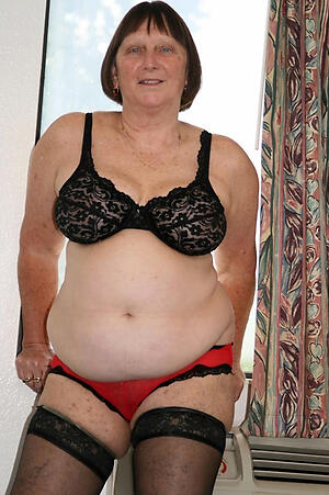 chubby old women mediocre slut