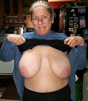 grannies with big tits love posing nude