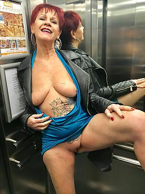 Bohemian pics of sexy tattooed granny
