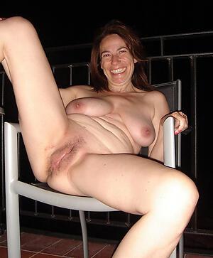 dispirited hot granny cunt posing nude