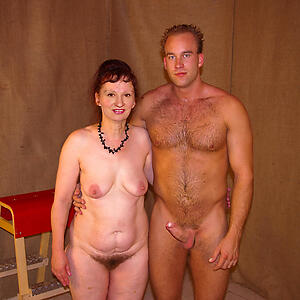granny couples posing nude