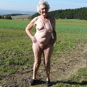 xxx pictures of granny outdoors
