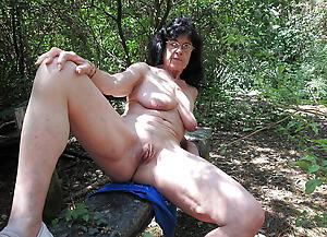 granny outdoors amateur slut