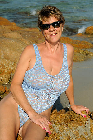 hot grannies anent underclothing posing