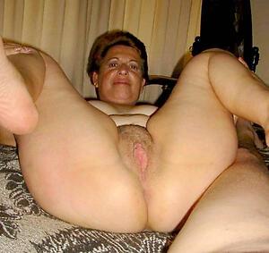 unconforming pics be advantageous to nude granny twat
