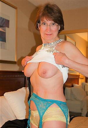 horney old women love posing nude