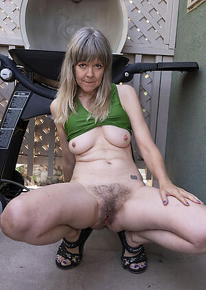 unsightly hairy granny pussy